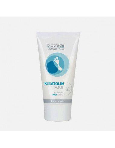 Keratolin crema picioare cu uree 10%, 50ml