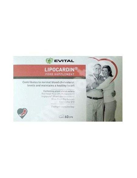 Evital Lipocardin, 60 capsule