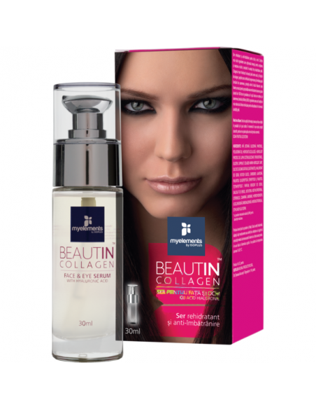 Beautin Collagen Ser pentru fata si ochi, 30ml