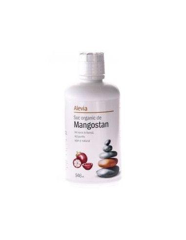 Suc organic de Mangostan 946ml, Alevia