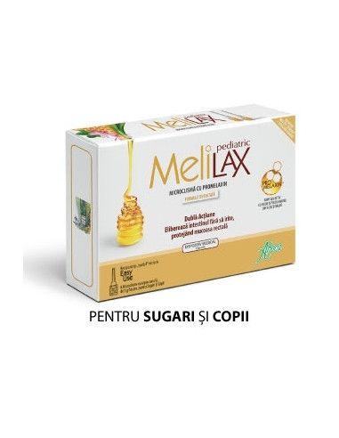 Melilax cu propolis Copii 5g x 6 microclisme