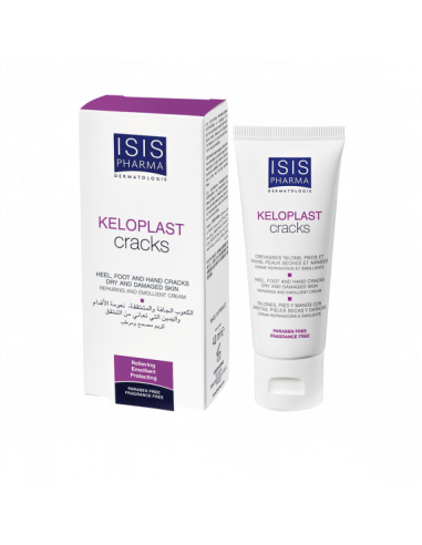 Keloplast cracks crema reparatoare 40ml ISIS Pharma