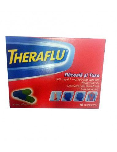 Theraflu Extra Răceală şi Gripă x 10 plicuri