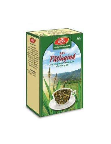 Ceai Pătlagină Frunze 50 grame