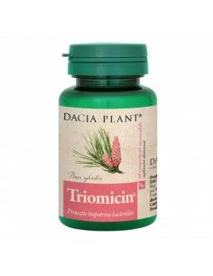 Dacia Plant Triomicin 60 comprimate masticabile