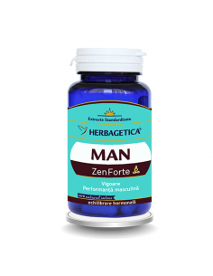 Herbagetica MAN Zen Forte x 60 cps
