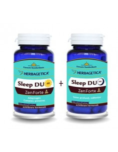 Herbagetica Sleep Duo AM/PM ZenForte 60cps + 60 cps