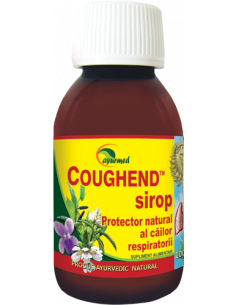 Coughend sirop, 100ml, Ayurmed