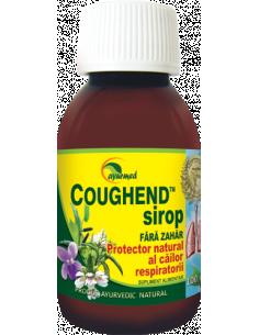 Coughend sirop fara zahar, 100ml, Ayurmed