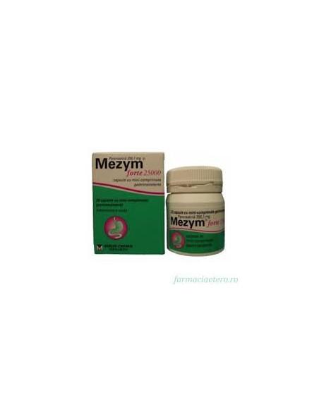 Mezym Forte 25000 356,1mg x 20 comprimate gastrorezistente