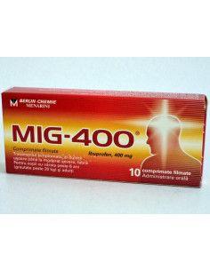Mig 400 mg x 10 comprimate