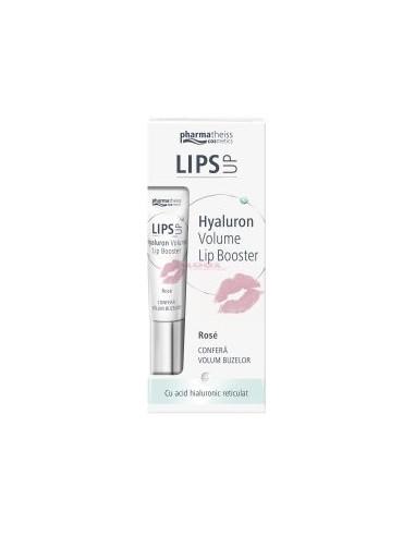 Lips Up Hyaluron Volume Balsam de buze Rose 7ml Pharmatheiss Cosmetics