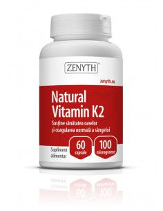 Natural Vitamin K2 60 capsule Zenyth