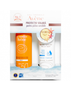 Avene Spray Spf 50 200 ml + After Sun 200 ml